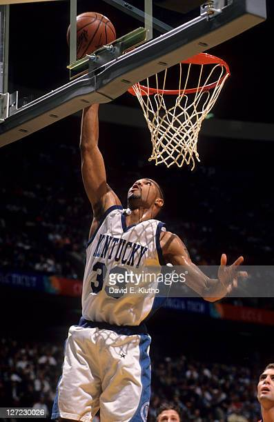 NCAA Final Four Kentucky Ron Mercer in action vs Syracuse at Brendan Byrne Arena East Rutherford NJ CREDIT David E Klutho