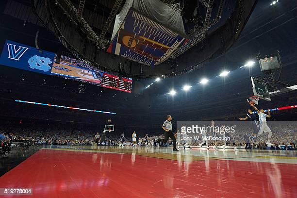Final Four: North Carolina Justin Jackson in action vs Villanova Josh Hart at NRG Stadium. Houston, TX 4/4/2016 CREDIT: John W. McDonough