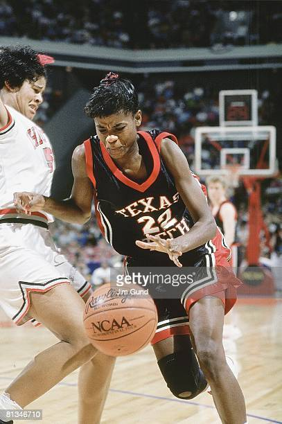 College Basketball NCAA finals Texas Tech Sheryl Swoopes in action vs Ohio State Atlanta GA 4/4/1993
