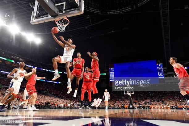 Finals: Virginia De'Andre Hunter in action vs Texas Tech at U.S. Bank Stadium. Minneapolis, MN 4/8/2019 CREDIT: Greg Nelson