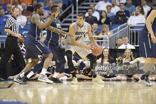NCAA Playoffs Colorado Josh Scott in aciton vs Pittsburgh at Amway Center Orlando FL CREDIT Bill Frakes