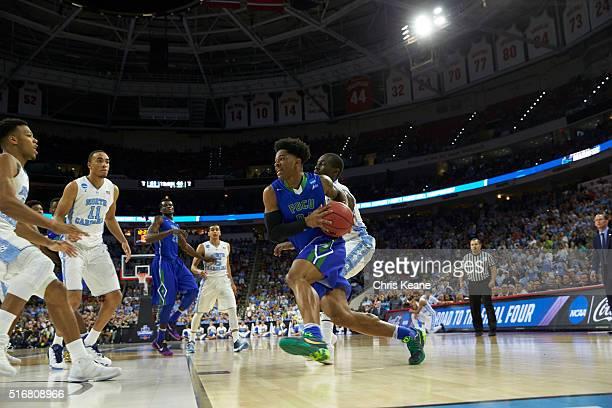 NCAA Playoffs Florida Gulf Coast Rayjon Tucker in action vs North Carolina at PNC Arena Raleigh NC CREDIT Chris Keane