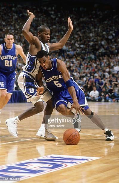 NCAA Playoffs Kentucky Wayne Turner in action vs Duke at Tropicana Field St Petersburg FL CREDIT John Biever