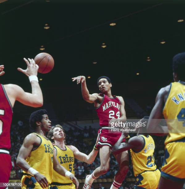 NCAA Playoffs Maryland Maurice Howard in action passing vs Notre Dame at Pan American Center Las Cruces NM CREDIT Heinz Kluetmeier
