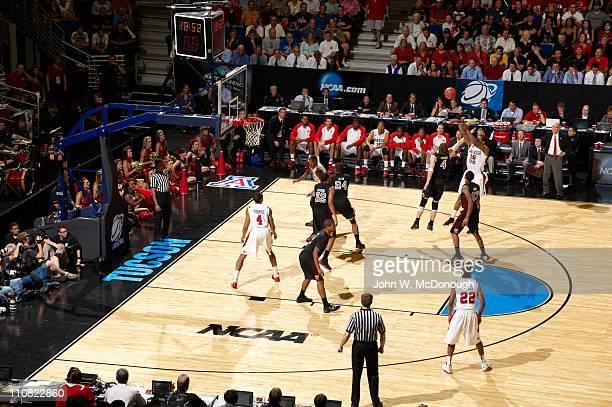 NCAA Playoffs San Diego State Kawhi Leonard in action shot vs Temple Juan Fernandez at McKale Memorial CenterTucson AZ 3/19/2011CREDIT John W...