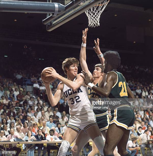 College Basketball NCAA Playoffs UCLA Bill Walton in action vs University of San Francisco Tucson AZ 3/16/1974