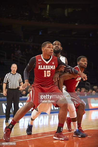 NIT Season TipOff Alabama Nick Jacobs in action box out vs Drexel at Madison Square Garden New York NY CREDIT Porter Binks