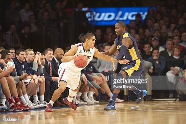 NIT Season TipOff Arizona Nick Johnson in action vs Drexel at Madison Square Garden New York NY CREDIT Porter Binks