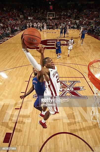 Oklahoma Buddy Hield in action vs Kansas at Lloyd Noble Center Norman OK CREDIT Greg Nelson