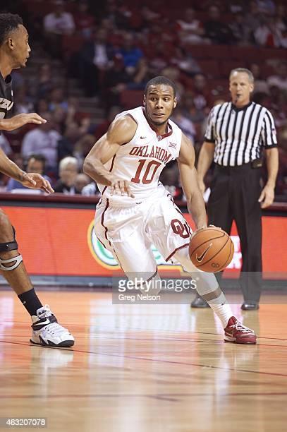 Oklahoma Jordan Woodard in action vs Missouri at Lloyd Noble Center Norman OK CREDIT Greg Nelson