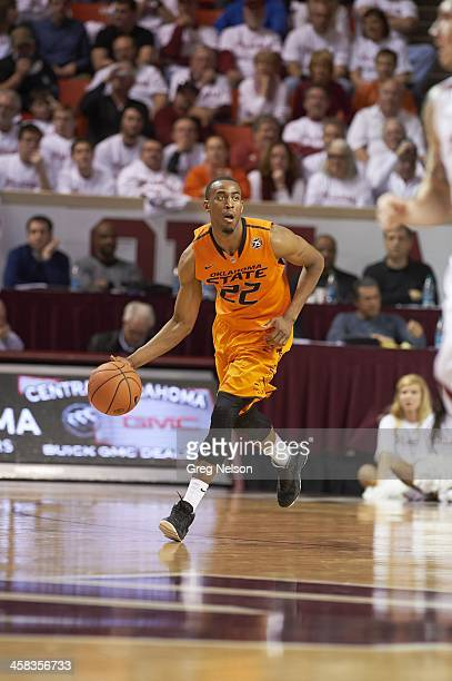 Oklahoma State Markel Brown in action vs Oklahoma at Lloyd Noble Center Norman OK CREDIT Greg Nelson