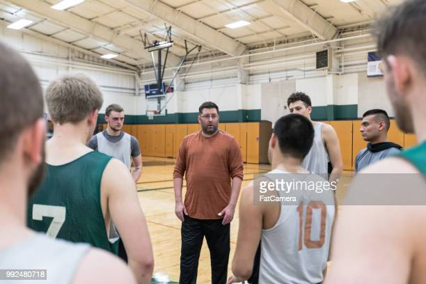 College Basketball Practice