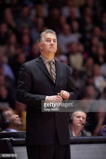 Purdue coach Matt Painter during game vs Penn State at Mackey Arena West Lafayette IN CREDIT Greg Nelson