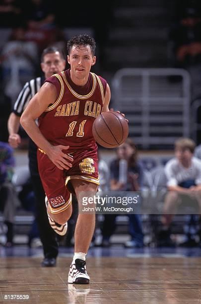 College Basketball: Santa Clara Steve Nash in action vs San Jose State, San Jose, CA 12/1/1995