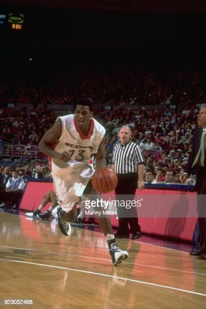 St. John's Felipe Lopez in action vs Notre Dame at Madison Square Garden. New York, NY 1/31/1998 CREDIT: Manny Millan