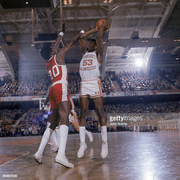 Tennesse Bernard King in action vs Alabama Knoxville TN 1/31/1976 CREDIT John Iacono