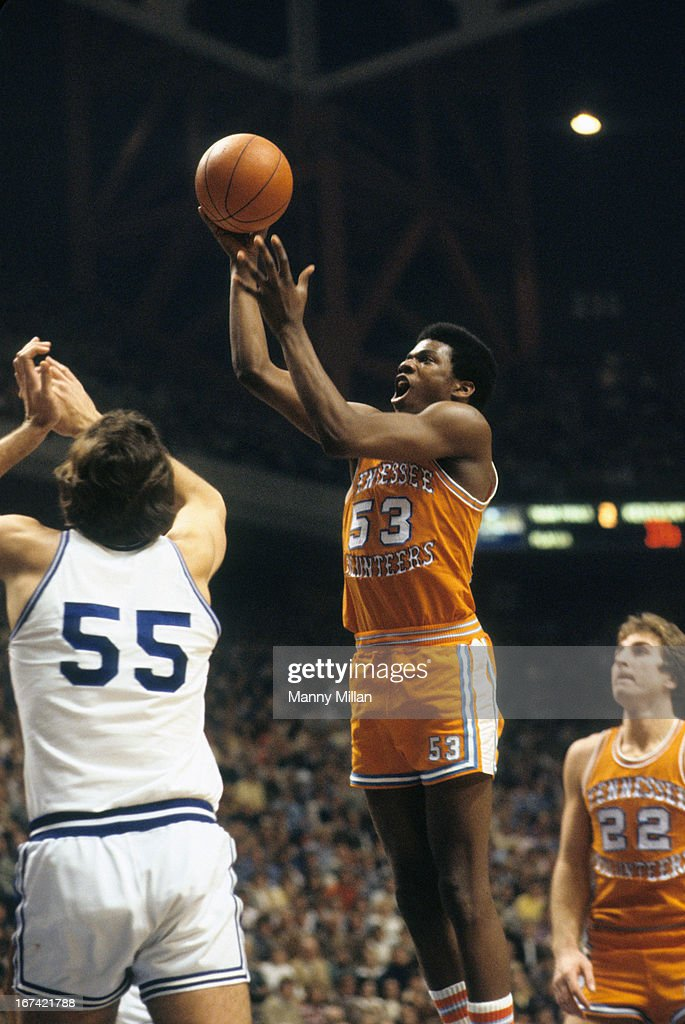 Tennessee Bernard King (53) in action vs Kentucky at Rupp Arena. Manny Millan F15 )