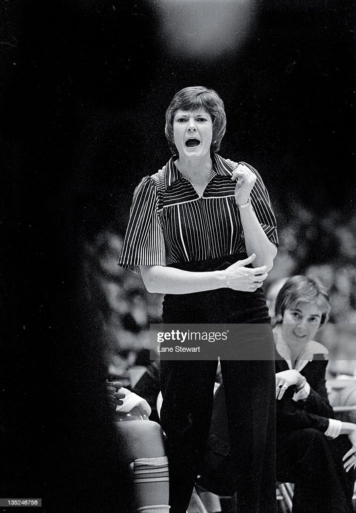 Tennessee head coach Pat Summitt during game vs Kentucky at Stokely Athletic Center. Lane Stewart X22159 )