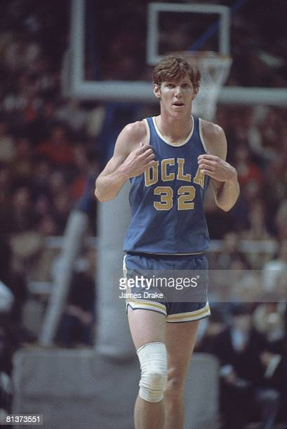 College Basketball UCLA Bill Walton during game vs Notre Dame South Bend IN 1/29/1972