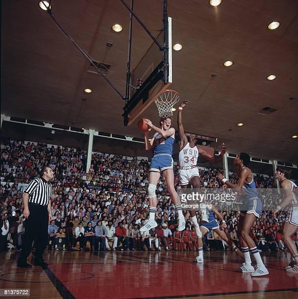 College Basketball UCLA Bill Walton in action vs Washington State Pullman WA 2/21/1972