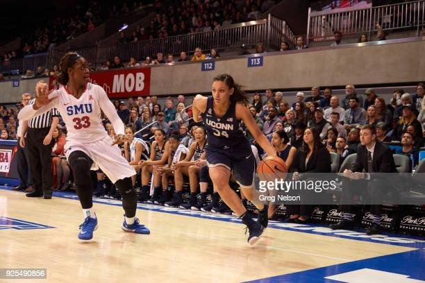 UConn Alexis Gordon in action vs SMU at Moody Coliseum Dallas TX CREDIT Greg Nelson