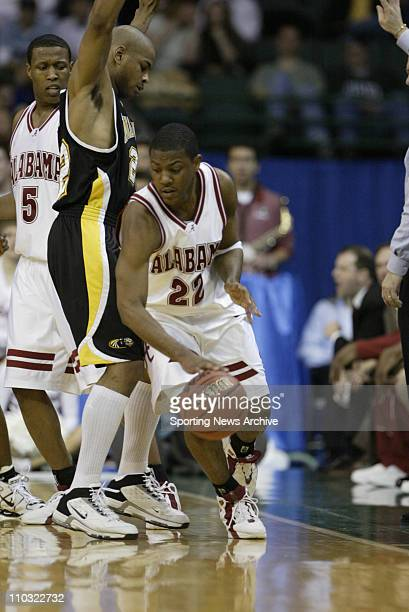 College Basketball University of WisconsinMIlwaukee Ed McCants against Alabama Ronald Steele during the first round of the NCAA Tournament on March...
