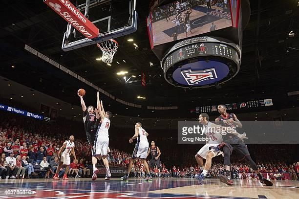 Utah Dallin Bachynski in action vs Arizona at McKale Center. Tucson, AZ 1/17/2015 CREDIT: Greg Nelson