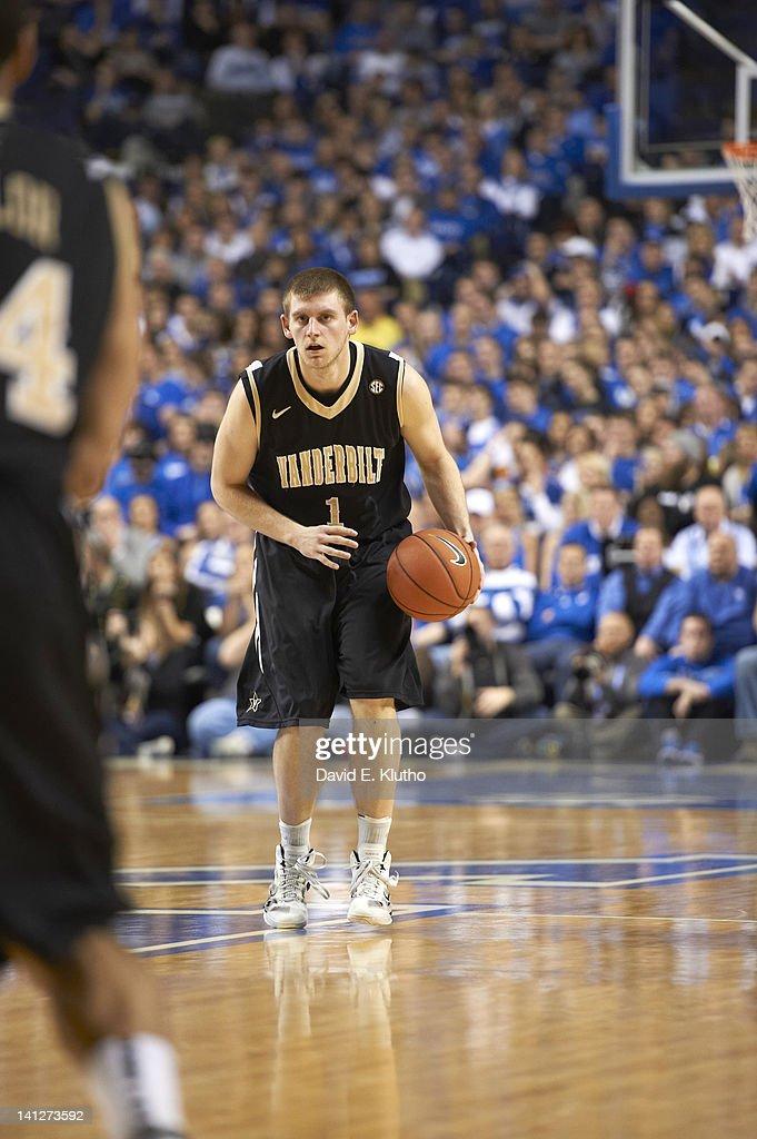 Vanderbilt Brad Tinsley (1) in action vs Kentucky at Rupp Arena. David E. Klutho F540 )