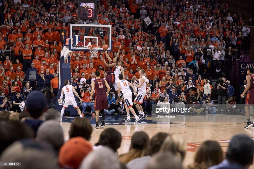 University of Virginia vs Virginia Tech University : News Photo