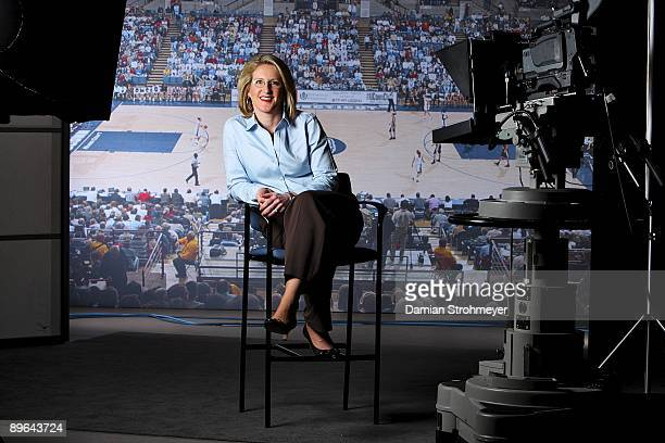 Where Are They Now: Portrait of former UConn player Meghan Pattyson-Culmo. Pattyson-Culmo works for CPTV. West Hartford, CT 3/30/2009 CREDIT: Damian...