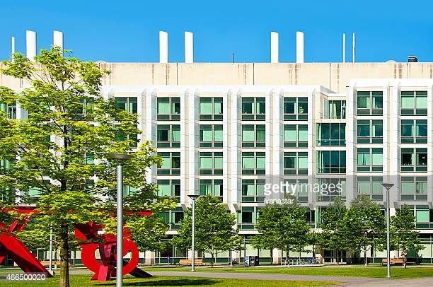 MIT College Campus in Cambridge