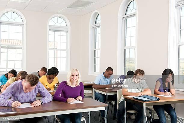 College Classroom Exam