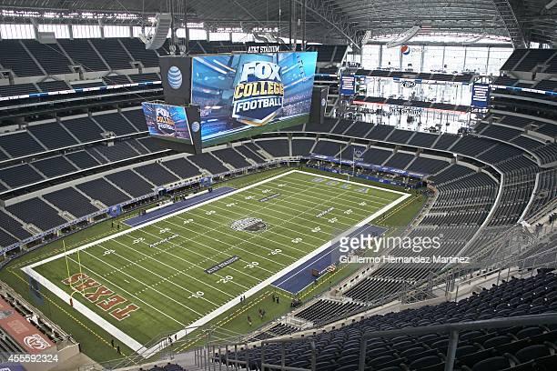 Aerial overall view of ATT Stadium before Texas vs UCLA game Arlington TX CREDIT Guillermo Hernandez Martinez