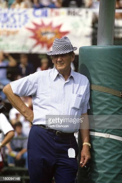 Alabama Coach Paul Bear Bryant Smoking Cigarette And