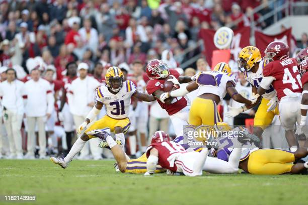 Alabama Henry Ruggs III in action vs LSU at BryantDenny Stadium Tuscaloosa AL CREDIT Simon Bruty