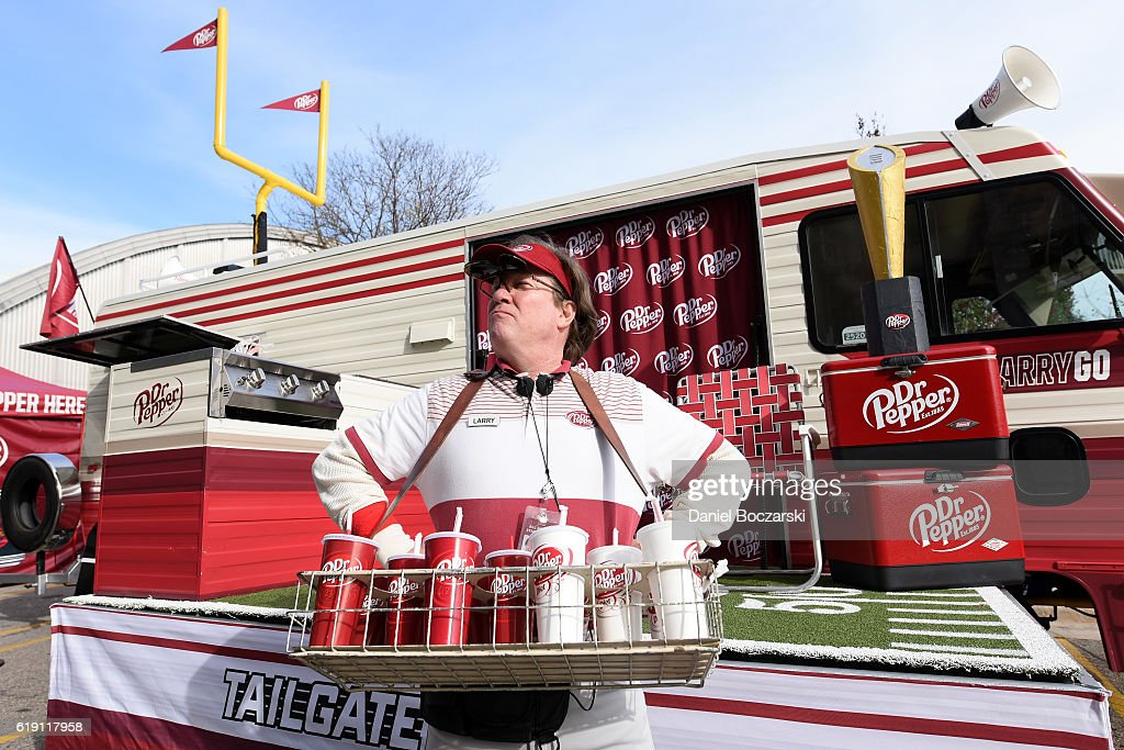 Dr Pepper - 2016 College Football Roadshow - Nebraska at Wisconsin : Foto jornalística