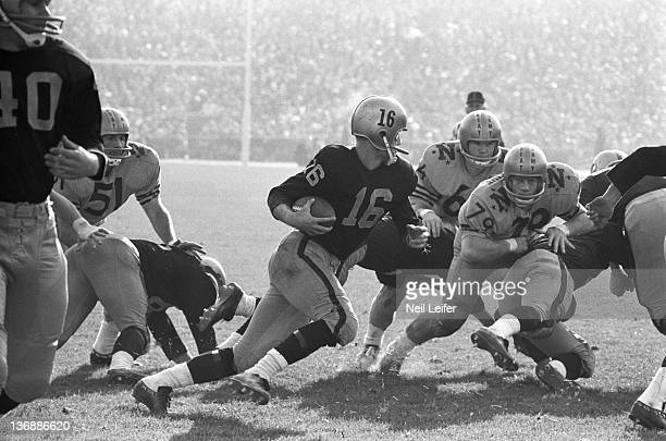 College Football ArmyNavy Game Army QB Rollie Stichwey in action vs Navy at Philadelphia Municipal Stadium Philadelphia PA 12/7/1963 CREDIT Neil...