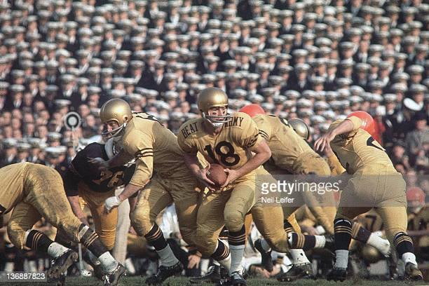 College Football ArmyNavy Game Navy QB Ronald Klemick in action vs Army at Philadelphia Municipal Stadium Philadelphia PA 12/2/1961 CREDIT Neil Leifer