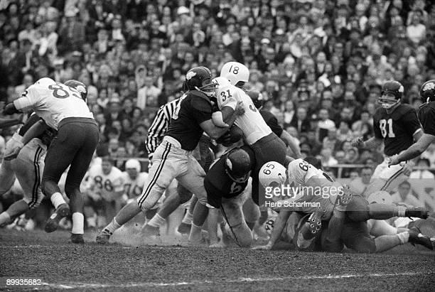 Cotton Bowl Nebraska Harry Wilson in action vs Arkansas Dallas TX 1/1/1965 CREDIT Herb Scharfman