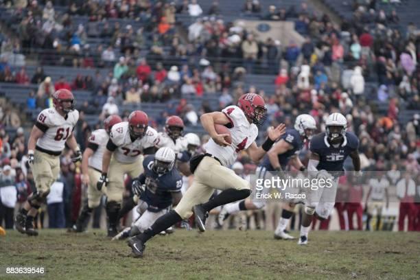 Harvard QB Joe Viviano in action vs Yale at Yale Bowl New Haven CT CREDIT Erick W Rasco