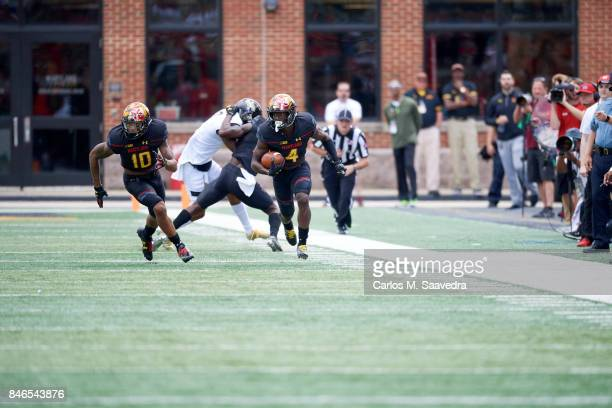 Maryland Darnell Savage Jr in action vs Towson at Maryland Stadium College Park MD CREDIT Carlos M Saavedra