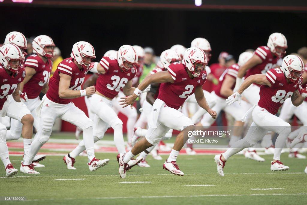 University of Nebraska vs University of Akron : Nieuwsfoto's