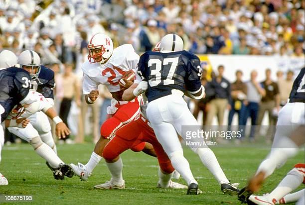 Nebraska Roger Craig in action vs Penn State at Beaver StadiumUniversity Park PA 9/25/1982CREDIT Manny Milan