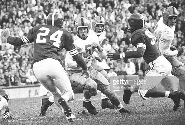 Notre Dame QB Paul Hornung in action vs Michigan State East Lansing MI CREDIT Mark Kauffman 017053083