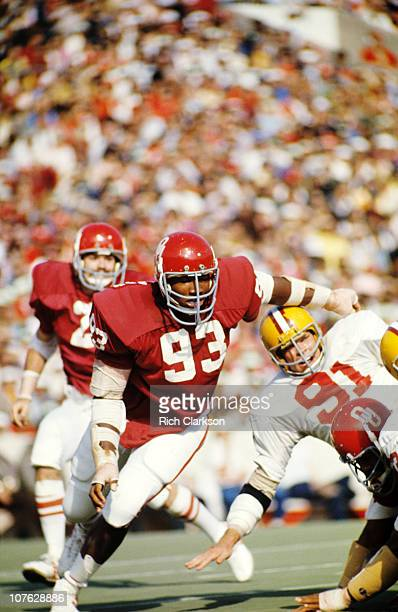 Oklahoma Lee Roy Selmon in action during game.USA 1/1/1970--CREDIT: Rich Clarkson