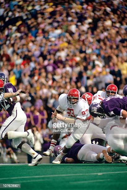 Oklahoma Lee Roy Selmon in action vs Kansas State.USA 1/1/1970--CREDIT: Rich Clarkson