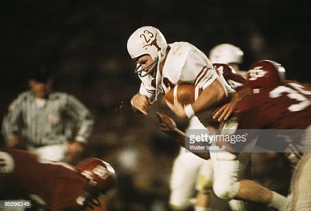 Orange Bowl Texas Ernie Koy in action rushing vs Alabama Miami FL 1/1/1965 CREDIT Walter Iooss Jr