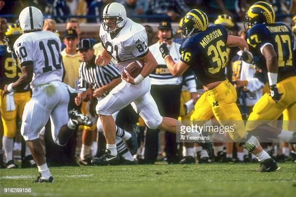 Penn State Kyle Brady in action vs Michigan at Michigan Stadium Ann Arbor MI CREDIT Al Tielemans