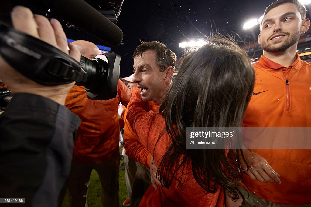 2017 College Football Playoff National Championship presented by AT&T : News Photo