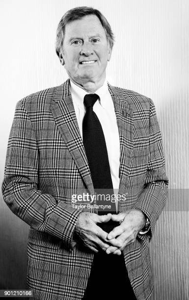 Portrait of former Florida coach Steve Spurrier before induction ceremony at New York Hilton Midtown New York NY CREDIT Taylor Ballantyne
